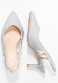 Paradox London Wide Fit - Classic heels - silver - 3