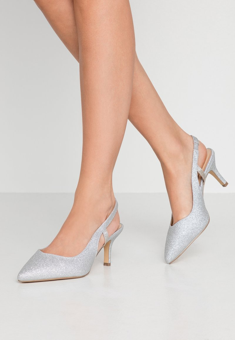 Paradox London Wide Fit - Classic heels - silver