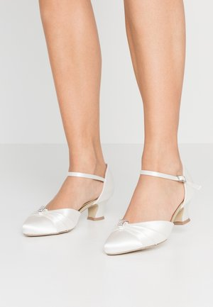WIDE FIT AVALYN - Bridal shoes - ivory