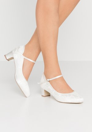 WIDE FIT AMIYA - Bridal shoes - ivory