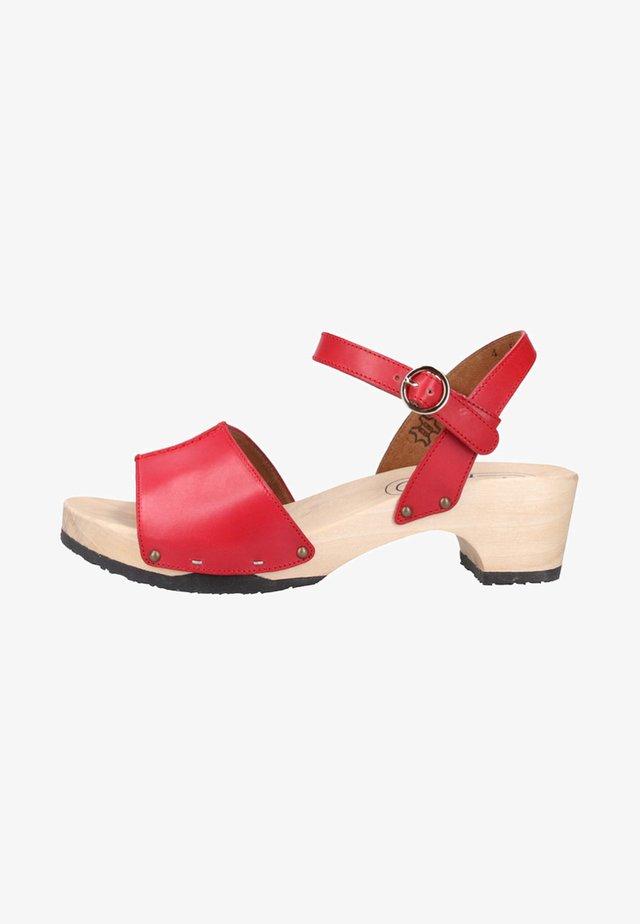 Sandaler - red