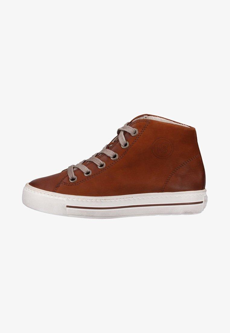 Paul Green - Sneaker high - cognac