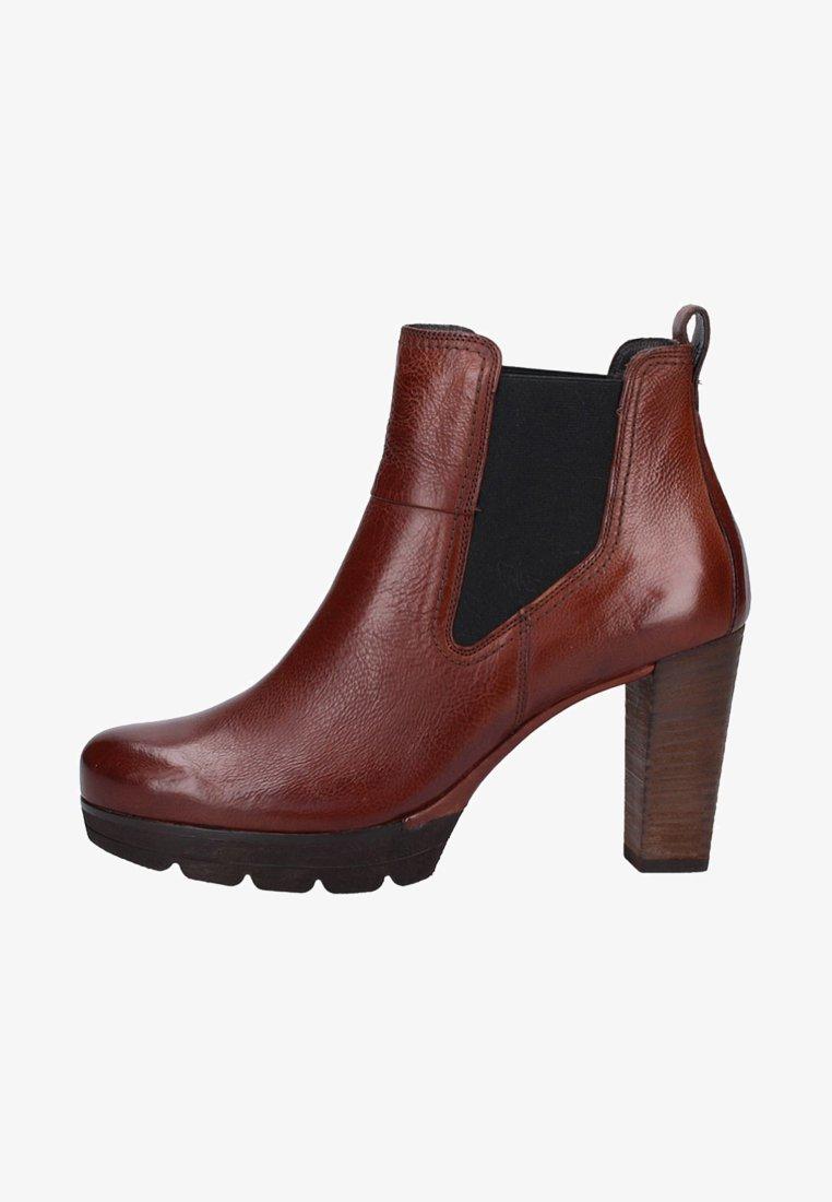 Paul Green - High Heel Stiefelette - brown