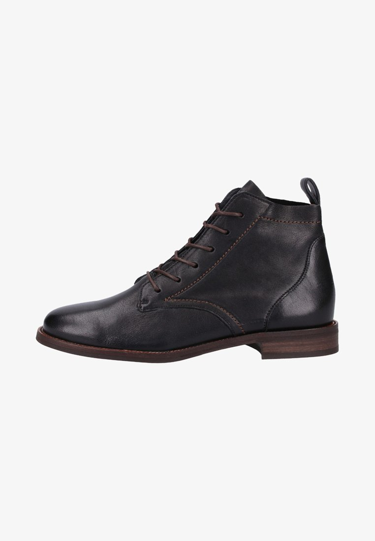Paul Green - Lace-up ankle boots - black