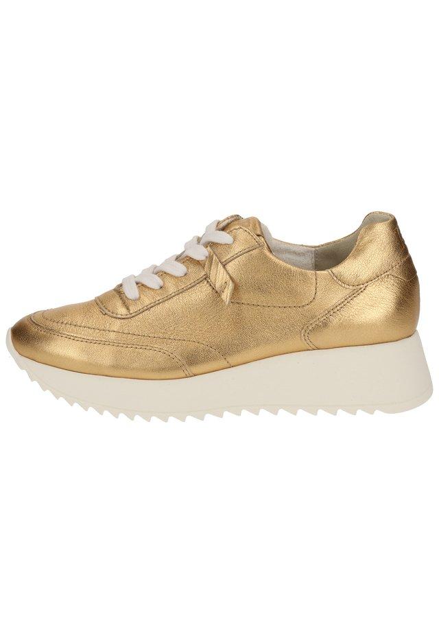 Sneakersy niskie - gold metallic 086