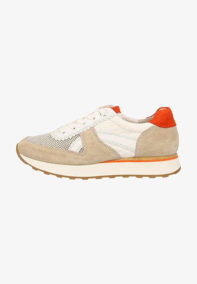 Sneakers laag - beige/orange/white