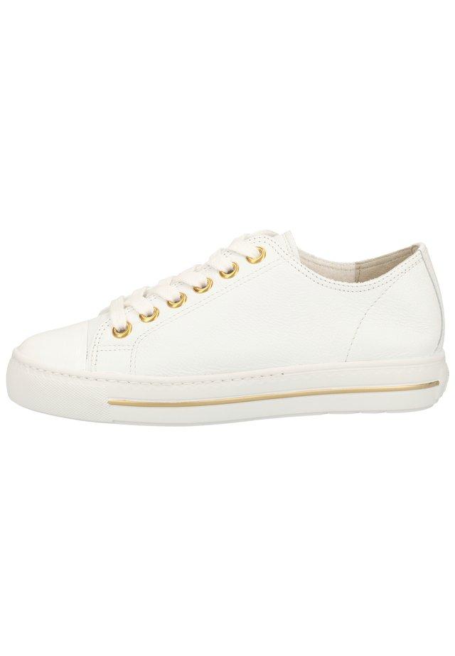 PAUL GREEN SNEAKER - Sneakers laag - weiß 016