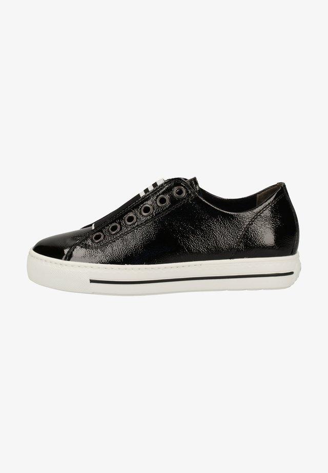 Sneakers laag - schwarz 097