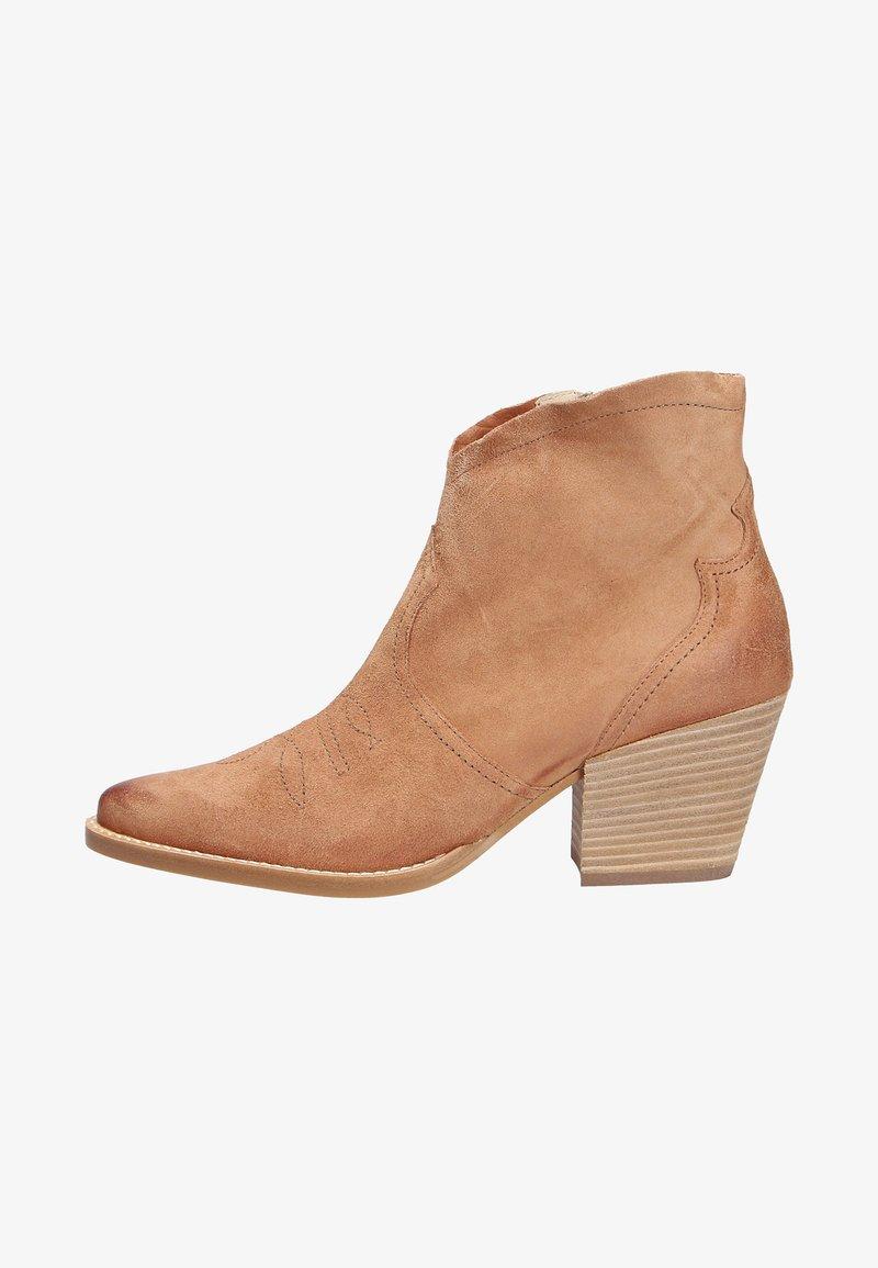 Paul Green - Cowboy/biker ankle boot - brown