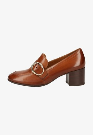Pumps - cognac-braun 027