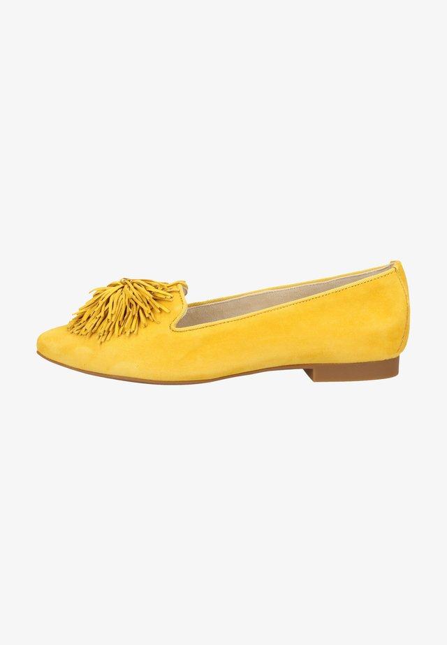 Półbuty wsuwane - yellow