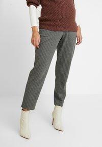 Paula Janz Maternity - TROUSERS - Trousers - grey - 0