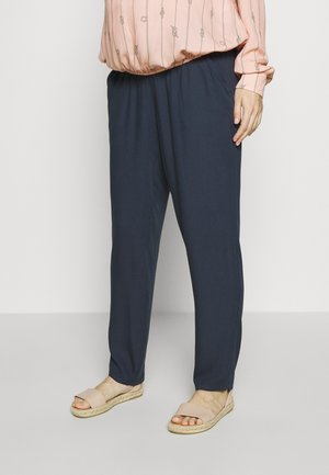 TROUSERS VICKI - Pantalones - dark blue