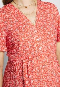 Paula Janz Maternity - DRESS APRIL SHOWER - Day dress - coral - 5