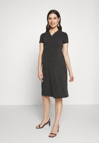 Paula Janz Maternity - Jersey dress - anthracite - 1