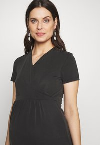 Paula Janz Maternity - Jersey dress - anthracite - 3
