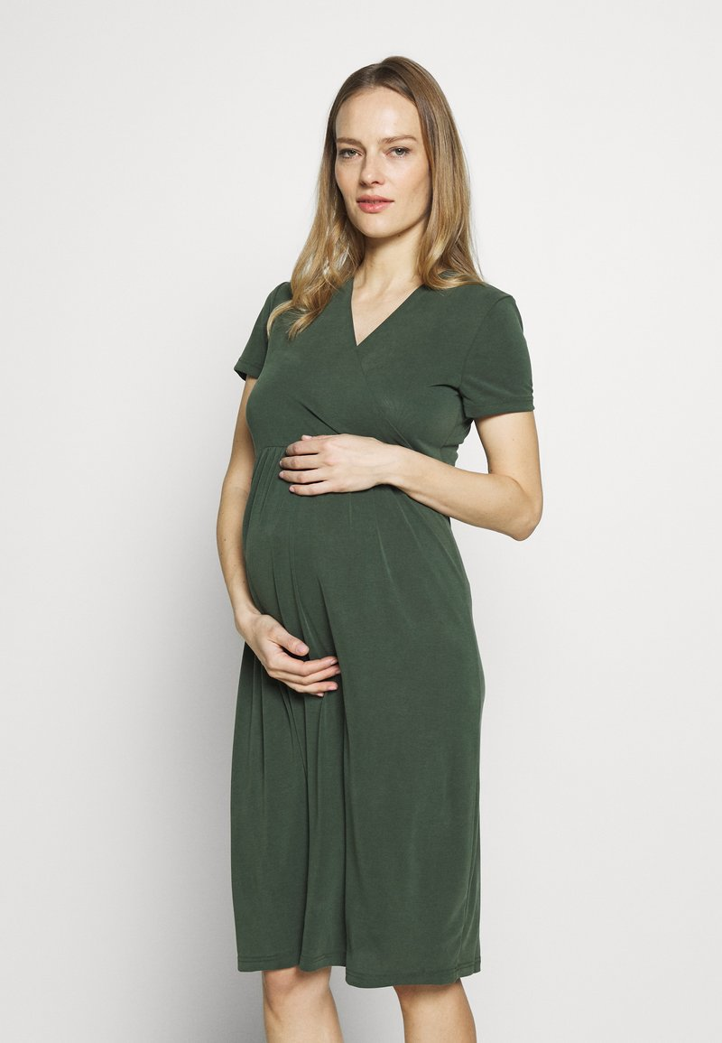 Paula Janz Maternity - Sukienka z dżerseju - jungle green