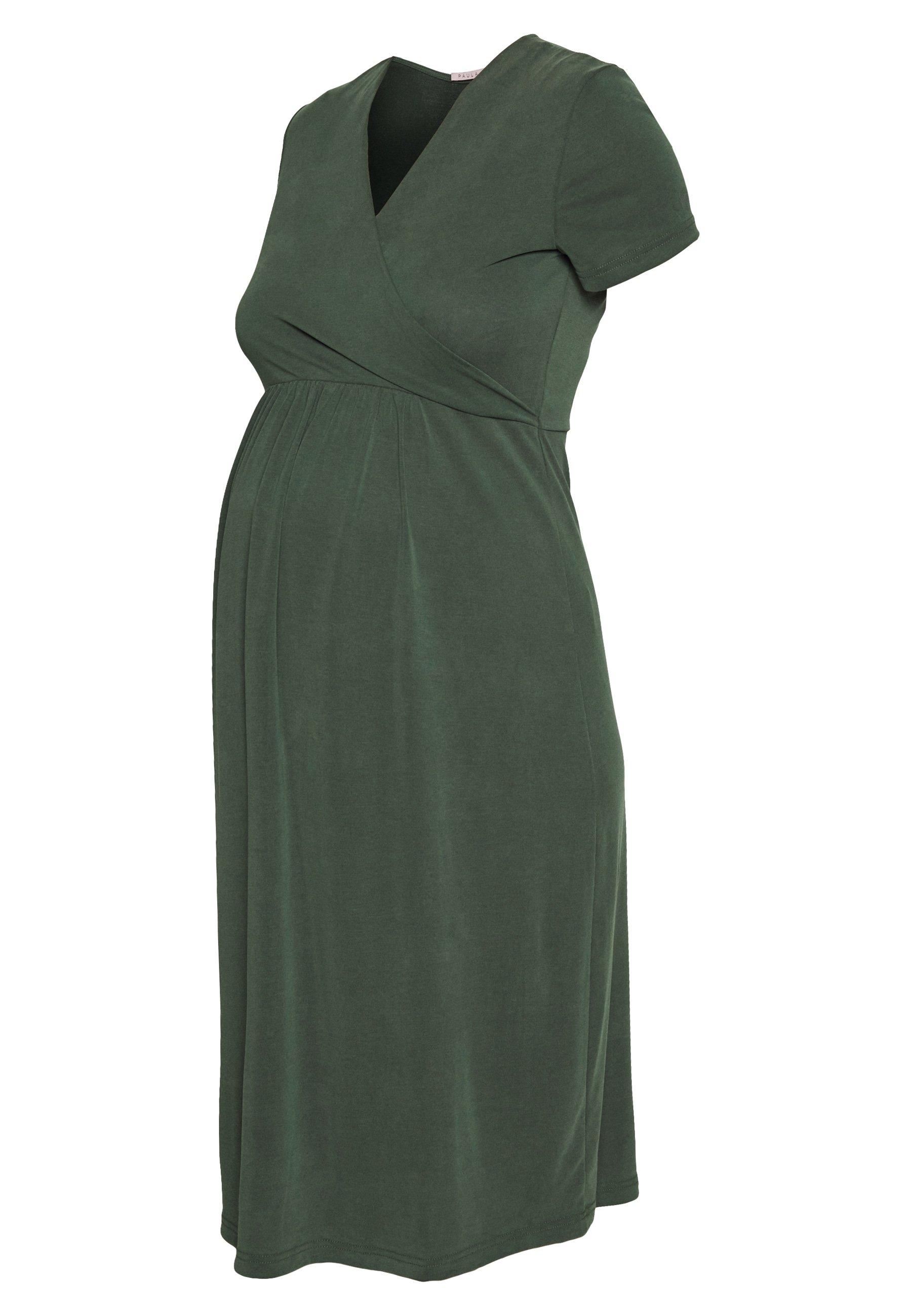 Paula Janz Maternity Jerseyklänning - Anthracite