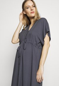 Paula Janz Maternity - DRESS NOSTALGIA - Shirt dress - dusty blue - 3