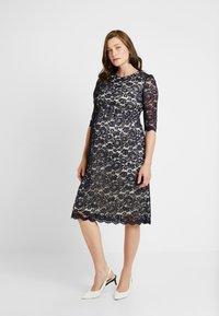 Paula Janz Maternity - DRESS ALICE MIDI - Cocktail dress / Party dress - dark blue - 0