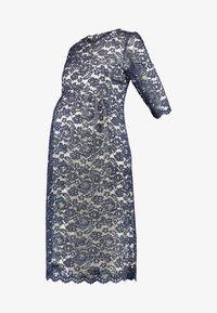 Paula Janz Maternity - DRESS ALICE MIDI - Cocktail dress / Party dress - dark blue - 3