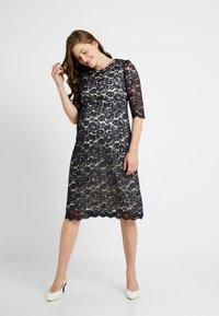Paula Janz Maternity - DRESS ALICE MIDI - Cocktail dress / Party dress - dark blue - 1