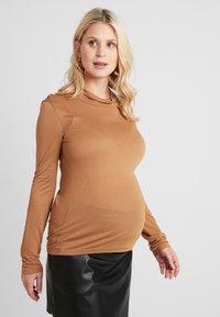 Paula Janz Maternity - LONG SLEEVE - Langarmshirt - sand - 0