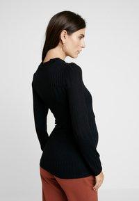 Paula Janz Maternity - LONG SLEEVE NURSING  - T-shirt à manches longues - black - 2