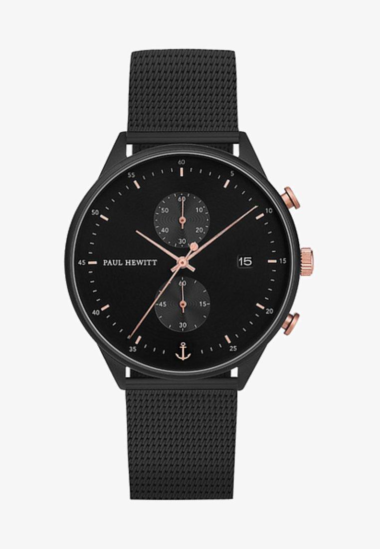 Paul Hewitt - Chronograph watch - black