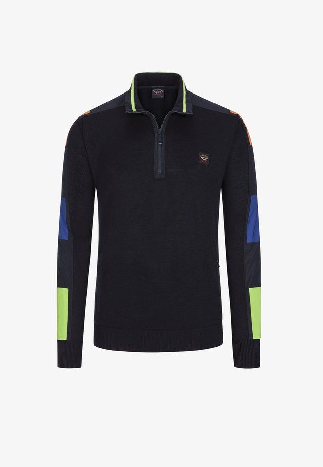 Fleece jumper - blau