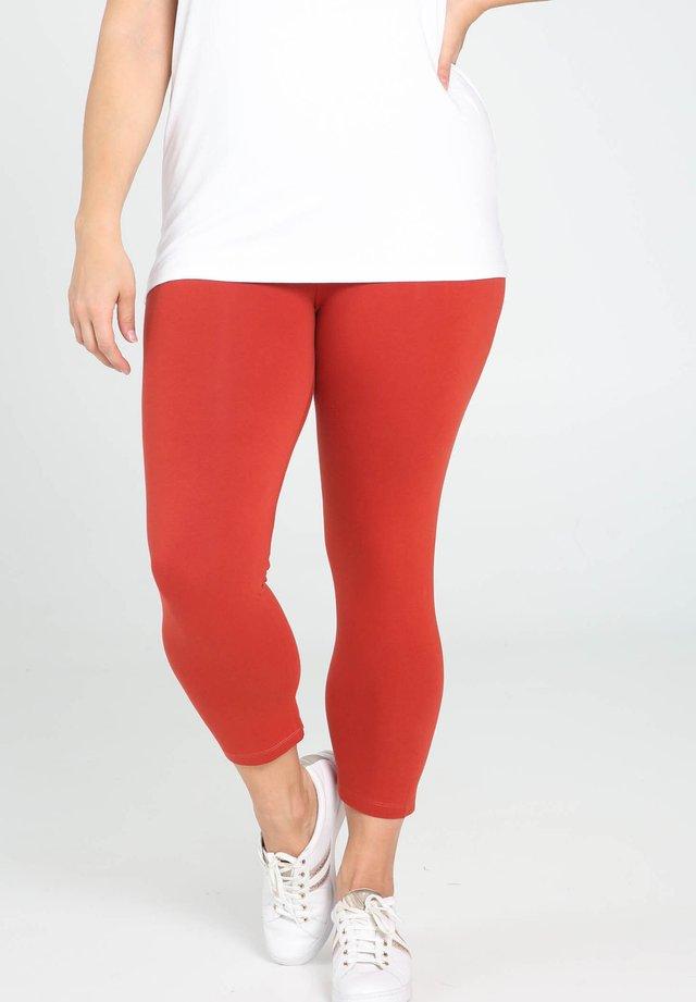 3/4 - Leggings - orange
