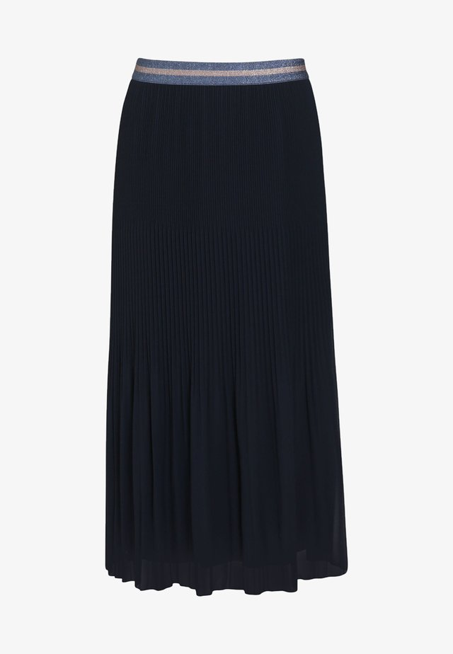 VOILE - Spódnica plisowana - marine