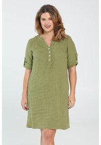 Paprika - Day dress - olive green - 0