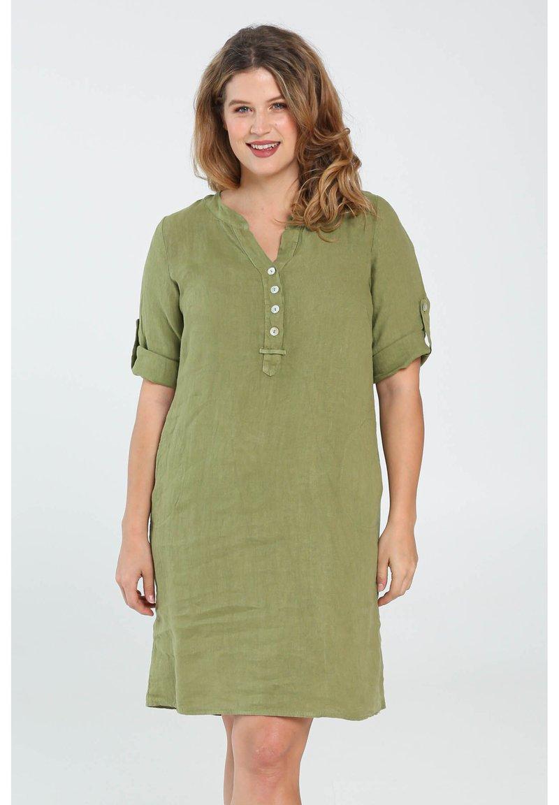 Paprika - Day dress - olive green