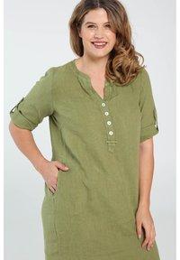 Paprika - Day dress - olive green - 2
