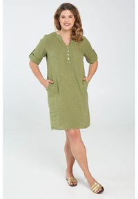 Paprika - Day dress - olive green - 1