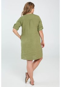 Paprika - Day dress - olive green - 3