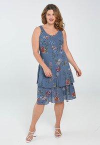 Paprika - Day dress - indigo - 1
