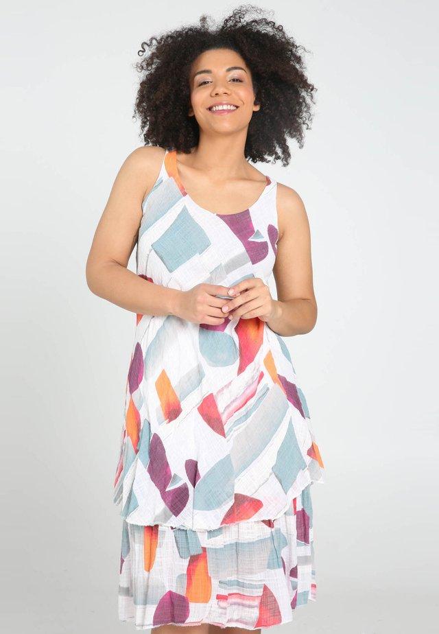 Vestido informal - multicolor