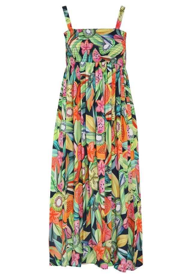 MIT FRÜCHTE-PRINT - Maxi-jurk - multicolor