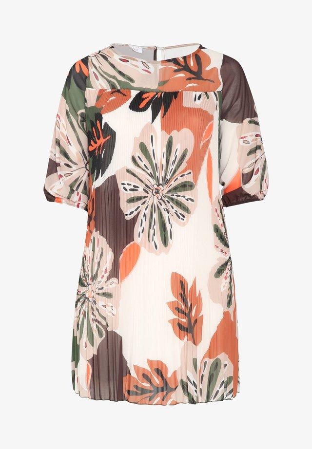 MIT TROPIC-PRINT - Korte jurk - khaki