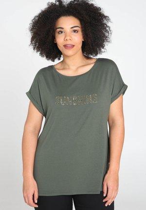 SUNSHINE - T-shirts print - khaki