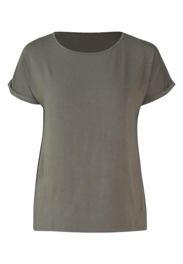 BAMBUS - T-shirt basique - khaki