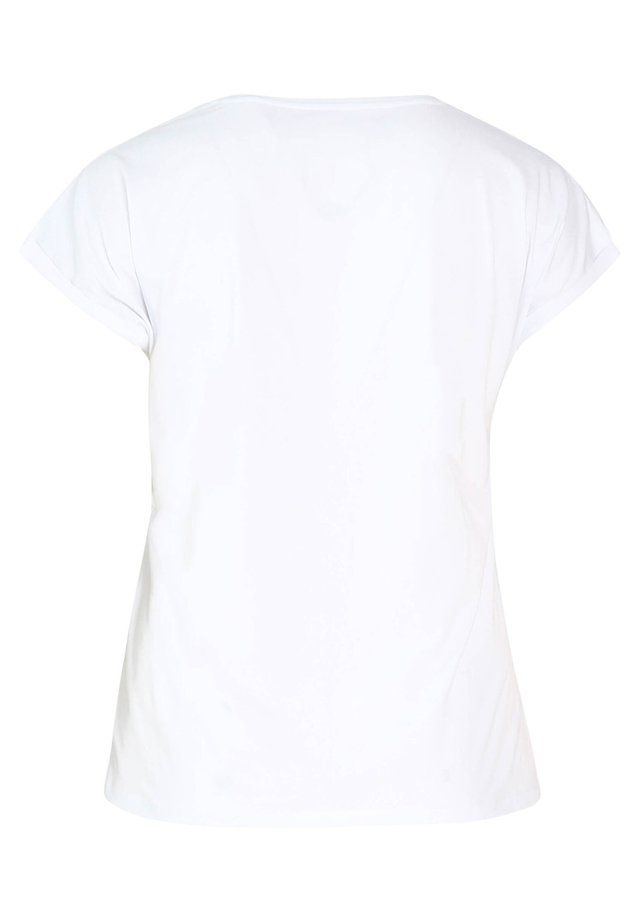 MIT AUFDRUCK SIMBA - T-shirt imprimé - white