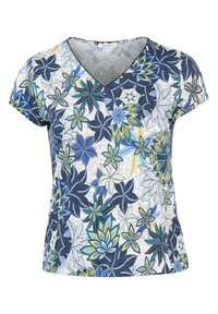 Paprika - MIT BLUMEN-PRINT - T-shirt con stampa - emerald green - 0
