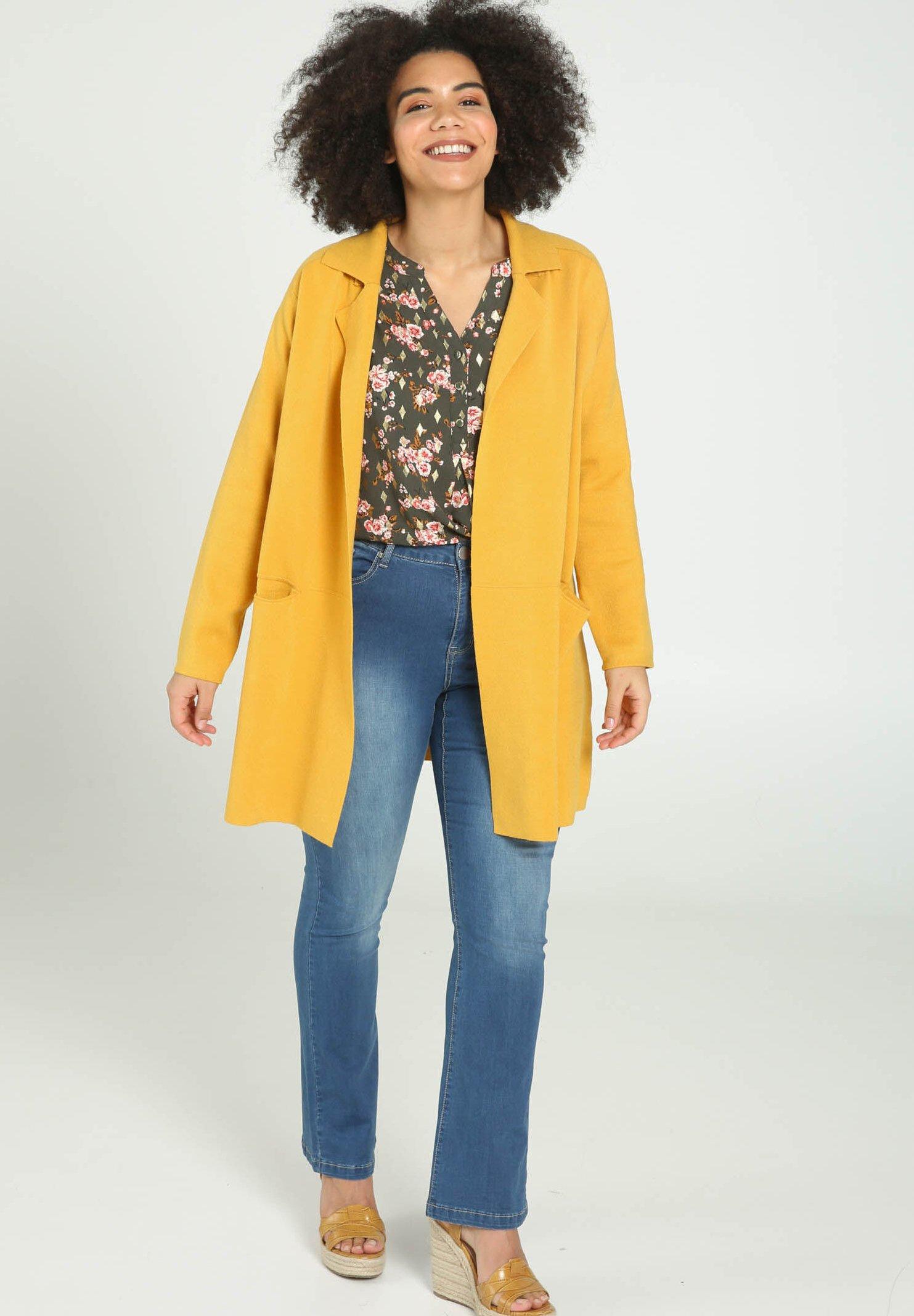 Paprika Kardigan - yellow