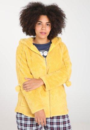 IM POLAR-LOOK MIT KAPUZE - Haut de pyjama - yellow