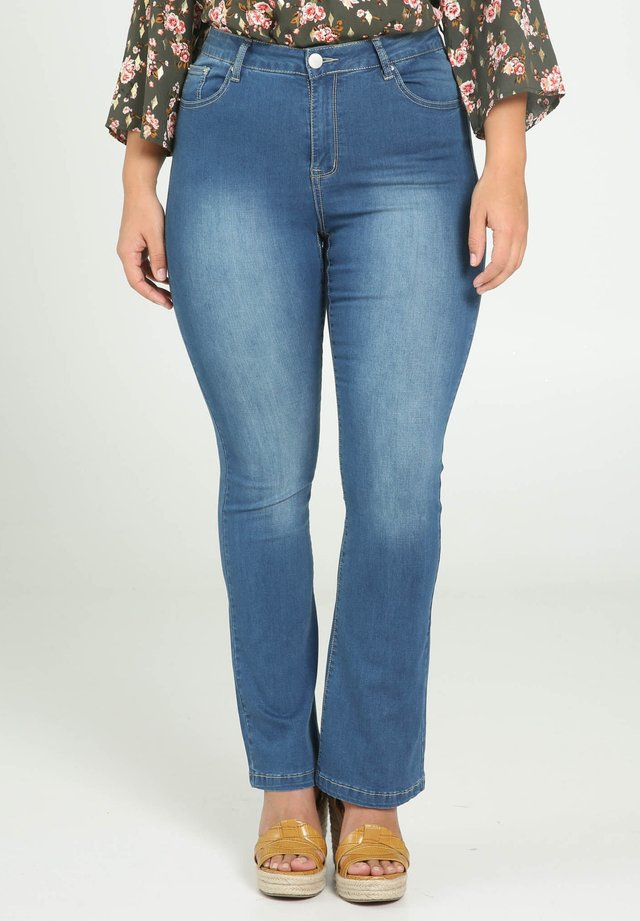 Jeans Bootcut - blue denim