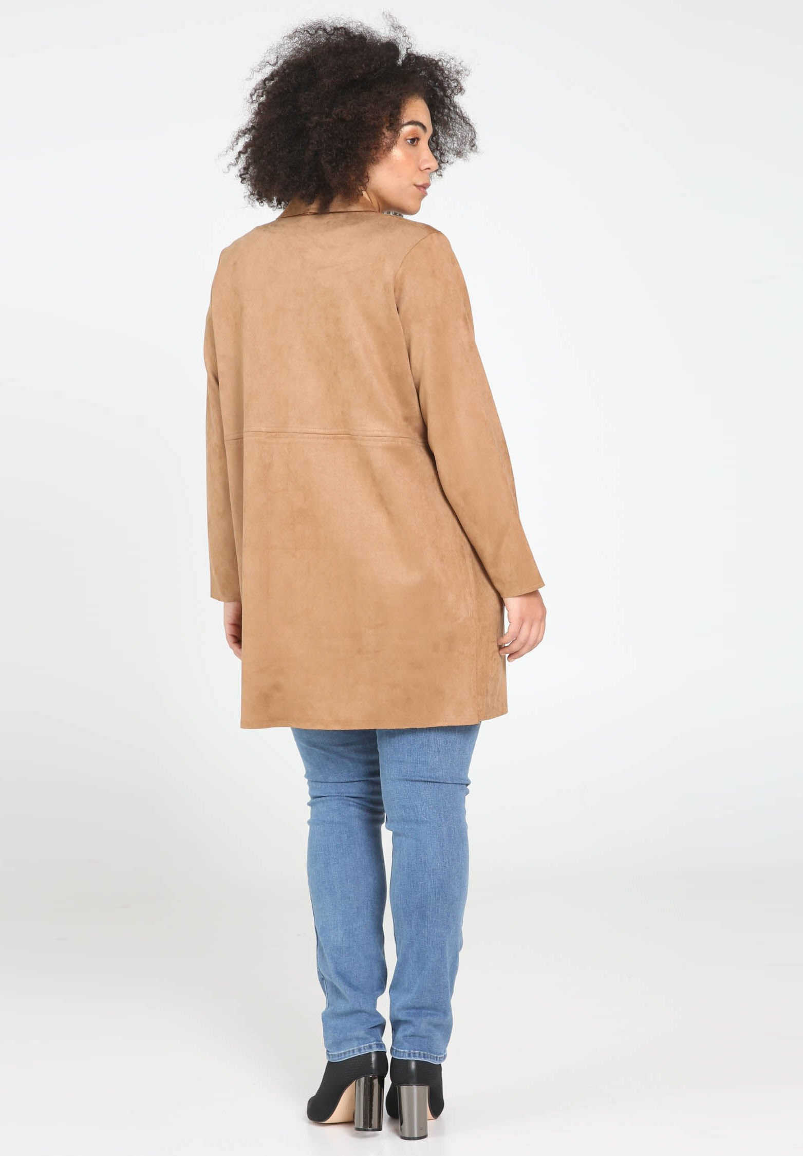 Paprika Krótki płaszcz - camel