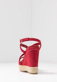 Paloma Barceló - TELMA - Sandály na vysokém podpatku - red - 5